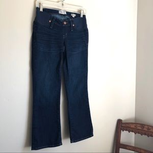 Madewell maternity jeans
